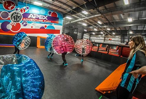 Saskatoon Bubble Soccer